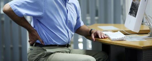 Rückenschmerzen - Ursachen, Symptome von Rückenschmerzen..